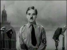 Charlie Chaplin, Il grande dittatore - Discorso all'umanità