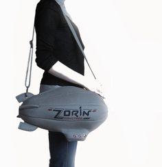 Zorin Airship Bag from James Bond Movie by krukrustudio on Etsy