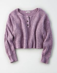 Shop Sweaters & Cardigans for Women at American Eagle. Layer your way in women's sweaters and cardigans, and stay cozy during fall and winter with new sweaters! Fall Chic, American Eagle Sweater, Cute Sweaters, Big Sweater, Cotton Sweater, Sweater Shirt, Pullover, Mens Outfitters, Urban Outfitters