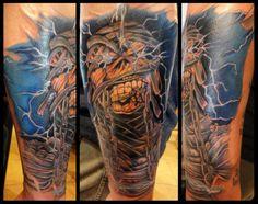 Iron Maiden Tattoo by Tony Nguyen