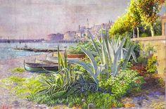 Ambroise Gioan Peintre provencal fin 19 sciècle