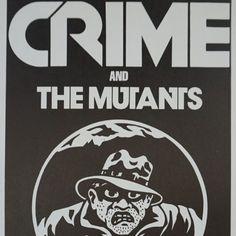 Crime - 1978 James Stark poster The Mutants San Francisco