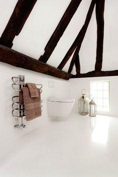 HIMACS per il completo restyling di un ambiente rustico inglese, Inghilterra, 2010 - HI-MACS® #design #interiors