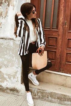 converse negras plataforma outfit