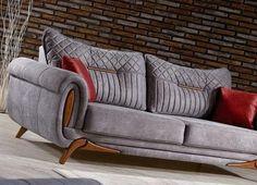 Wooden Sofa Designs, Wood Table Design, Sofa Furniture, Furniture Design, Solid Wood Sideboard, Couch Cushion Covers, Old Sofa, Wooden Bed Frames, Elegant Living Room