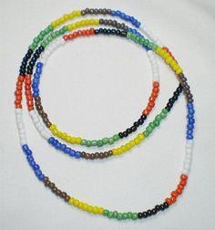 Collar De 7 Potencias Africanas, 7 Powers Necklace, Elekes, Santeria, Religion Yoruba, Afro-cubana by OD, http://www.amazon.com/dp/B0096E7J8W/ref=cm_sw_r_pi_dp_BwuMqb17X2R5Y