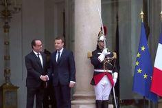 Франсуа Олланд та Еммануель Макрон