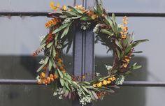 diy simple holiday wreath