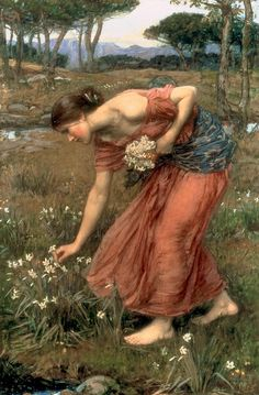 Нарциссы. Частная коллекция 1912. 94x64