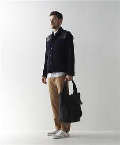 Albam knitted donkey jacket