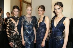 Backstage- Zuhair Murad FW 13/14 couture Show