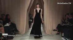 """Italian Fashion"" -    ""Valentino Haute Couture"" - ""2015 Spring Summer"" ..."