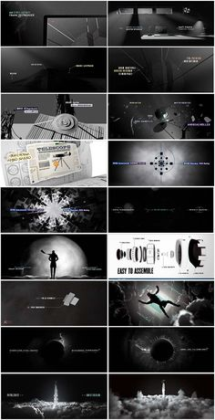 motion graphics/ storyboards/ styleframes | FITC Amsterdam Title Sequence