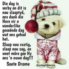 Good Night Sleep Tight, Evening Greetings, Afrikaanse Quotes, Goeie Nag, Goeie More, Special Quotes, Day Wishes, Strong Quotes, Favorite Quotes