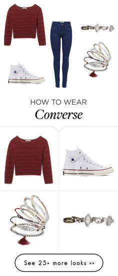 """Untitled #291"" by narimelle on Polyvore featuring Rebecca Minkoff, Converse, Topshop and maurices"