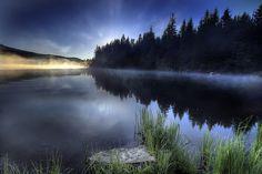 Sunrise at Trillium Lake, Oregon 2 - HDR by David Gn Photography, via Flickr