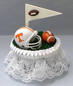 Turf Topper Wedding Cake