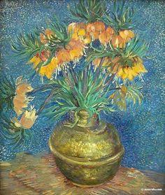 Vincent Van Gogh  Fleurs dans un Vase
