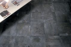 METALBAX by FIORANESE (pictured: steel) #madeinitaly #ceramics #floor #tile…