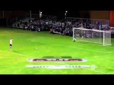 save 5 goal penalty with his face & win - Scott Sterling vs football Funny - YouTube