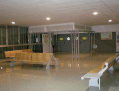 Puerta de acceso a la Biblioteca Hypatia de Alejandría. 11/12/2015
