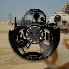 Star Wars fans, who want BB 8 to live in your house? Our BB 8 Wall Clock made of…