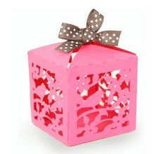 cajitas caladas ideales para souvenir o decorar tu fiesta!!!