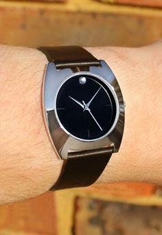 90's+Style+Chrome+Watch