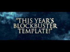 Cinematic Blockbuster Titles (Videohive After Effects Templates)