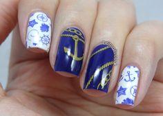 Brit Nails: Hello Sailor!