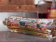 make your own rose liqueur by infusing St Germain with dried rose buds. For ganache