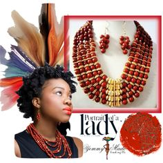 """""""Portrait of a Lady"""" by cj-d-sign on Polyvore"""