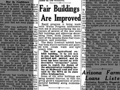 """Fair Buildings Are Improved""  November 27, 1938"