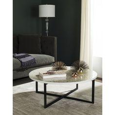 Safavieh Cheyenne Cream Coffee Table - 17462402 - Overstock.com Shopping - Great Deals on Safavieh Coffee, Sofa & End Tables