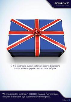Publicidades creativas de Navidad 2012 / Aerolíneas