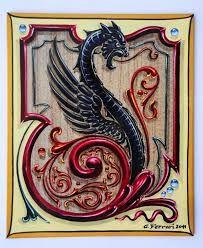 Resultado de imagen para dragon pato fileteado porteño