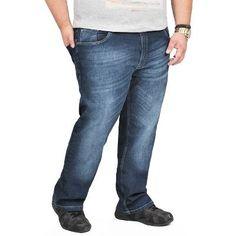 Calça Jeans Pluz Size Vilejack Do 50 Ao 62 Com Elastano - R$ 75,50 no MercadoLivre