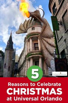 5 Reasons to Celebrate Christmas at Universal Orlando. Learn what's new this holiday season and get travel tips to make your Christmas vacation special. What's new for Harry Potter fans, parades and more. Disney Universal Studios, Universal Orlando, Craft Party, Diy Party, Party Ideas, Simple Christmas, White Christmas, Christmas Ideas, Christmas Tree