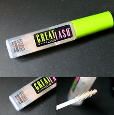 Great Lash Clear Gel by Maybelline...a great drugstore dupe to the Anastasia Brow Gel. Keeps your brows in place all day long!