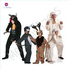 #Disfraces de #Carnaval de #Animales Navidad para grupos #mercadisfraces tienda de #disfraces online, #disfraces #originales y baratos para tus fiestas de #carnaval o #halloween