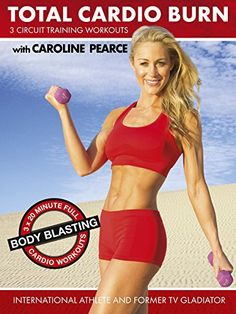 Total Cardio Burn (3 x Circuit Training Workouts) by Caroline Pearce - http://www.exercisejoy.com/total-cardio-burn-3-x-circuit-training-workouts-by-caroline-pearce-2/fitness/
