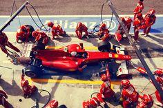 Fernando Alonso Pit Stop
