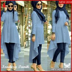 Modest Fashion Hijab, Modern Hijab Fashion, Fashion Dresses, Designer Party Wear Dresses, Kurti Designs Party Wear, Muslim Women Fashion, Pakistani Dresses Casual, Hijab Fashionista, Mode Hijab