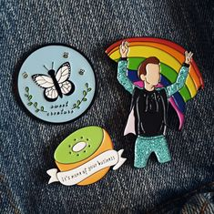 Harry Styles Enamel Pins, Cute Enamel Pins, One Direction Enamel Pins, Harry Styles Merch, 1D, Lapel Pins