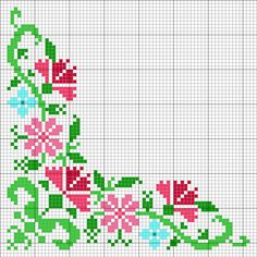 Free Cross Stitch Charts, Cross Stitch Borders, Cross Stitch Rose, Cross Stitch Baby, Cross Stitch Alphabet, Cross Stitch Flowers, Modern Cross Stitch, Cross Stitch Designs, Cross Stitching