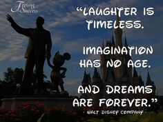 Image detail for -walt disney, quotes, sayings, imagination, laughter, dream ...