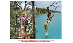 US Airways Magazine / Confessions of a Zip-Line Junkie -- Zipping in Asheville