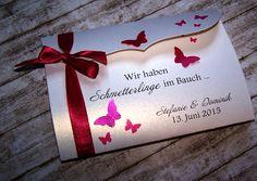 einladung zur taufe rosa | einladung zur hochzeit / taufe, Einladungen