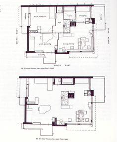 Gerrit+Rietveld+-+Schröder+House+plans+(1924).jpg 1.061×1.297 pixels