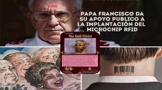 Papa francisco apoya al chip marca de la bestia